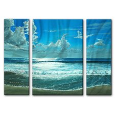 Surfside Sparkle Metal Art