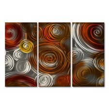Cosmic Cluster IV Metal Wall Art