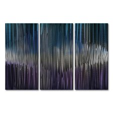 Cool Energy IV Metal Wall Art