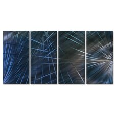 Network III Metal Wall Art