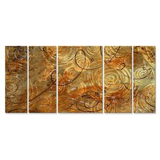 <strong>All My Walls</strong> Marble thoughts Metal Wall Decor