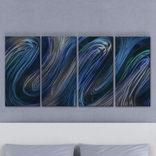 <strong>All My Walls</strong> Glissade III Metal Wall Art