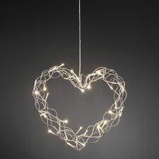 LED-Metallsilhouette Herz