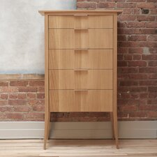 <strong>Semigood Design</strong> Rift 5 Drawer High Dresser