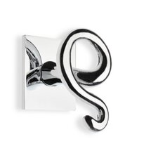 Medea Wall Mounted Double Robe Hook in Chrome