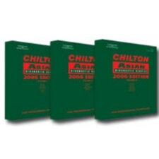 <strong>Chiltons Book Company</strong> Asian Service Repair Manual 2002-2006 (3 Set)