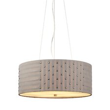 <strong>LBL Lighting</strong> Elba 4 Light Drum Pendant