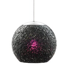 <strong>LBL Lighting</strong> Rock 1 Light Mini Pendant