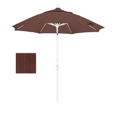 9' Collar/Auto Tilt Market Umbrella