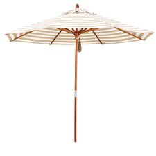 9' Round Striped Umbrella