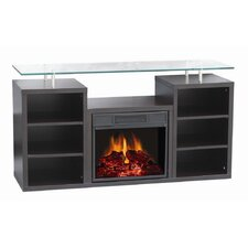 "<strong>World Marketing</strong> Manhattan 50"" TV Stand with Electric Fireplace"