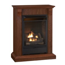 Tri-Fuel Vent Free Gas Fireplace