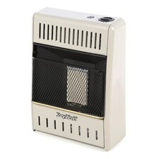 6,000 BTU Infrared Wall Propane Space Heater