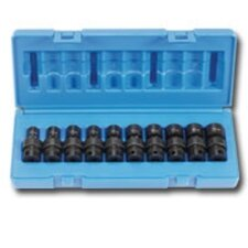 "<strong>Grey Pneumatic</strong> 10Pc 3/8"""" Dr Universal Metric Set"