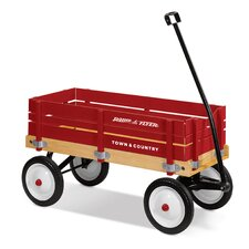 <strong>Radio Flyer</strong> Town & Country Wagon Ride-On