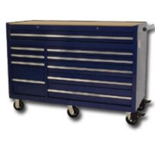 "56.5"" Wide 10 Drawer Bottom Cabinet"