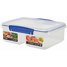 65 Oz. Klip It Split Food Container