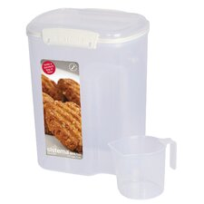 13.7 Cup Flour Container with Measuring Cup