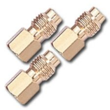 "<strong>Mountain</strong> 3Pk R134A Adp 1/4"" Fl-F X 1/2"" Acme-M 3 Pack"