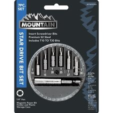 7 Piece Star Drive Bit Set