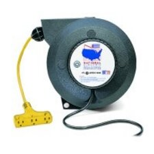 Lig Flu 50' Reel Hd Osha Model Auto On/Off Switch