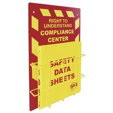 Msds Compliance Center- Wall Mount