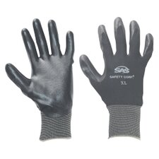Gloves Nitrile Coated Med Black 1 Pr
