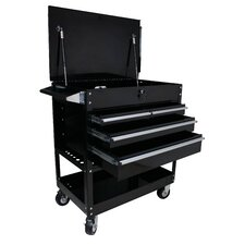 "Premium 33.25"" Wide 4 Drawer Service Cart"