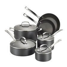 Genesis 10 Piece Hard-Anodized Cookware Set