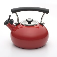Contempo 2 Quarts Teakettle in Red