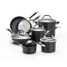Symmetry Hard-Anodized Nonstick 11-Piece Cookware Set