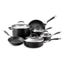 <strong>Circulon</strong> Elite Aluminum 10-Piece Cookware Set