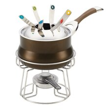 Symmetry Chocolate 3.75-Qt. Fondue Set