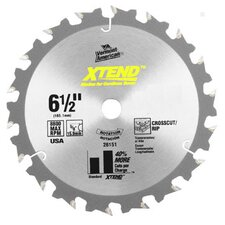 "6-1/2"" 20T XTEND™ Carbide Circular Saw Blade 26152"
