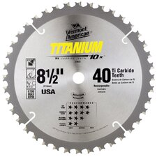 "8-1/2"" Titanium 10X® Series Carbide Tipped Circular Saw Blade 2"