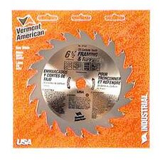 "6-1/2"" 20 TPI Fast-Cut Rip Carbide Circular Saw Blades 27167"