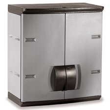 "<strong>Rubbermaid</strong> 24"" Mica & Charcoal Wall Cabinet 788800MICHR"