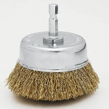 "2-3/4"" Fine Cup Wire Brush 16784"