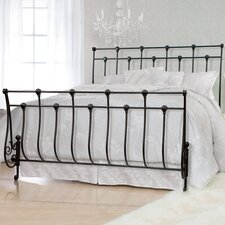 Metal Sleigh Bed