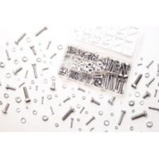 240 Pc Zinc Nut & Bolt Hardware Kit