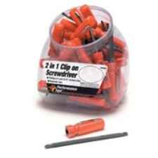 Screwdriver 2 In 1 Fishbowl= 30 Pcs