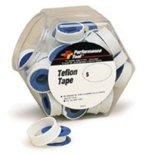 PTFE Tape Roll Fishbowl= 40 Pcs