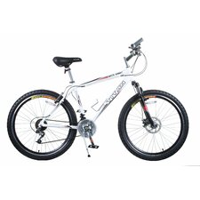 <strong>Titan</strong> Men's White Knight Alloy Frame All-Terrain Mountain Bike