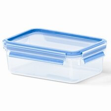Emsa by Frieling 18.5 Oz. 3D Food Storage Shallow Rectangular Clip and Close Container