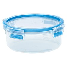 Emsa by Frieling 28.5 Oz. 3D Food Storage Shallow Round Clip and Close Container