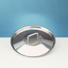 "Sitram Catering Stainless Steel 7.125"" Lid"