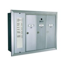 1255  Series Vertical Mailbox Unit with Directory