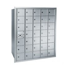 2600 Centurian Horizontal Wall Mailbox Unit