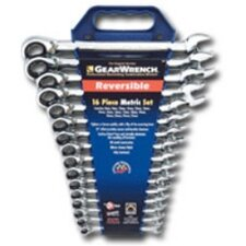 Gearwrench Set 16Pc Metric Reversible