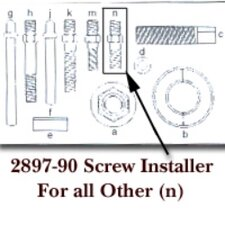Screw Installer For Others Letter (N)